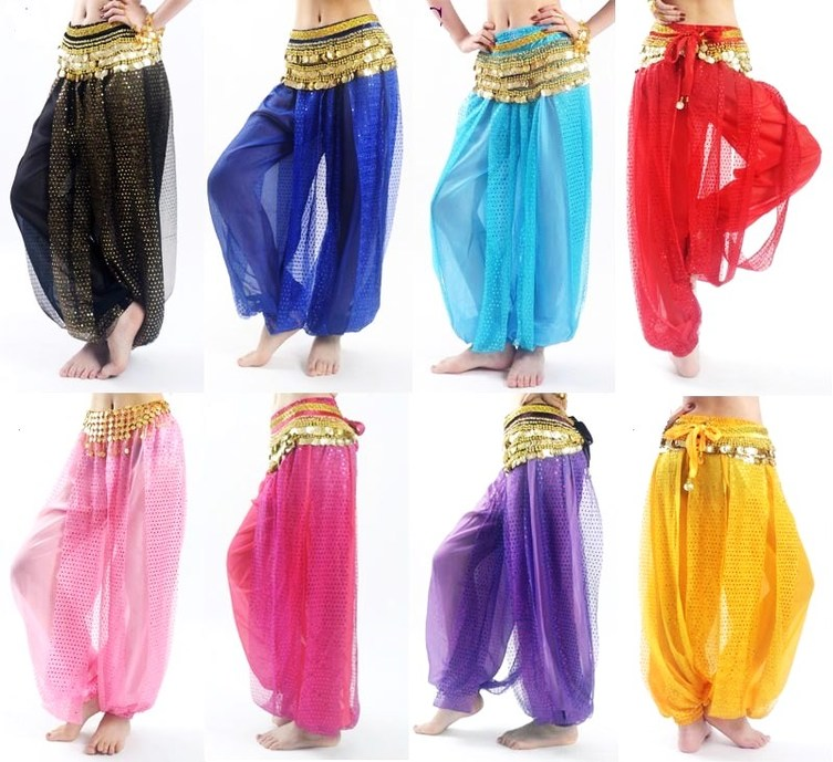 Harem belly dance pant